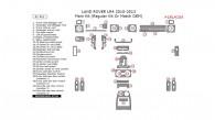 Land Rover LR4 2010, 2011, 2012, 2013, Main Interior Kit (Regular Kit Or Match OEM), 41 Pcs.