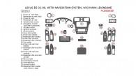 Lexus ES 2002, 2003, 2004, 2005, 2006, Interior Dash Kit, With Navigation System, W/o Mark Levinsone, 24 Pcs.