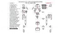 Lexus ES 2010, 2011, 2012, With Navigation System , Full Interior Kit, 41 Pcs., Match OEM