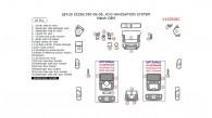 Lexus IS 2006, 2007, 2008, Interior Dash Kit, W/o Navigation System, 25 Pcs., Match OEM