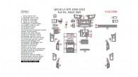 Lexus LX570 2008, 2009, 2010, 2011, 2012, 2013, 2014, 2015, Full Interior Kit, 52 Pcs., Match OEM