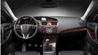 Mazda 3 2010, 2011, 2012, 2013, With Manual Transmission, Main Interior Kit, 31 Pcs.