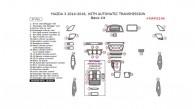 Mazda 3 2014, 2015, 2016, With Automatic Transmission, Basic Interior Kit, 37 Pcs.