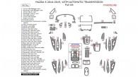 Mazda 6 2014-2015, With Automatic Transmission, Full Interior Kit, 49 Pcs.