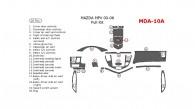 Mazda MPV 2000, 2001, 2002, 2003, 2004, 2005, 2006, Full Interior Kit, 20 Pcs.
