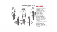 Mazda Millenia 1995-1996, Full Interior Kit, 22 Pcs.