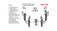 Mazda Millenia 2001-2002, Full Interior Kit, 22 Pcs., Match OEM