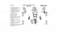 Mazda Millenia 1997-1998, Mazda Millenia 97-98, Basic Interior Kit, 19 Pcs.