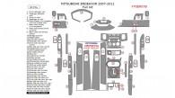 Mitsubishi Endeavor 2007, 2008, 2009, 2010, 2011, Full Interior Kit, 43 Pcs.