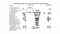Mitsubishi Lancer 2006, Basic Interior Kit, With Automatic Transmission, 28 Pcs.