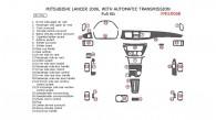 Mitsubishi Lancer 2006, Full Interior Kit, With Automatic Transmission, 31 Pcs.