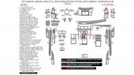 Mitsubishi Lancer 2008, 2009, 2010, 2011, 2012, 2013, 2014, 2015, With Navigation System, With Manual Transmission, Full Interior Kit, 68 Pcs.