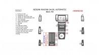 Nissan Maxima 2004, 2005, 2006, Automatic, Basic Interior Kit, 16 Pcs.