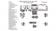 Nissan Maxima 2004, 2005, 2006, With OEM, Full Interior Kit, 40 Pcs., OEM Match.