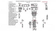 Nissan Murano 2006, 2007, 2008, Full Interior Kit, Without Door Panels, 47 Pcs.