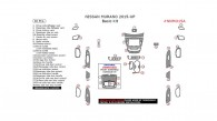 Nissan Murano 2015, 2016, 2017, Basic Interior Kit, 30 Pcs.