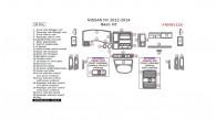 Nissan NV 2012, 2013, 2014, Basic Interior Kit, 30 Pcs.