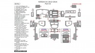 Nissan NV 2012, 2013, 2014, Full Interior Kit, 48 Pcs.