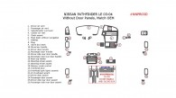 Nissan Pathfinder 2003-2004, Interior Dash Kit, LE, Without Door Panels, 26 Pcs., OEM Match.