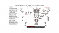 Nissan Sentra 2013, 2014, 2015 Without Navigation System, Basic Interior Kit, 39 Pcs.