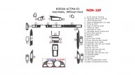 Nissan Altima 1993, Full Interior Kit, Automatic, Without Clock, 26 Pcs.
