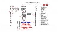 Nissan Maxima 2000-2001, Basic Interior Kit, Automatic, Radio Without CD Player, 28 Pcs.