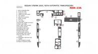 Nissan Xterra 2000, Interior Dash Kit, Automatic 22 Pcs.