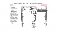 Nissan Xterra 2001, Interior Dash Kit, Automatic 21 Pcs.
