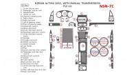 Nissan Altima 2002, Full Interior Kit, Manual, 33 Pcs.