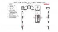 Nissan Xterra 2002, 2003, 2004, With Automatic Transmission, Basic Interior Kit, 16 Pcs.