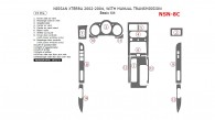 Nissan Xterra 2002, 2003, 2004, With Manual Transmission, Basic Interior Kit, 15 Pcs.