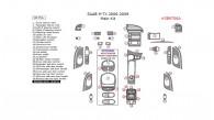 Saab 9-7X 2006, 2007, 2008, 2009, Main Interior Kit, 40 Pcs.