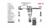 Subaru Baja 2003, 2004, 2005, 2006, Interior Kit, 27 Pcs.