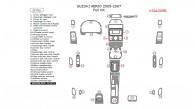 Suzuki Aerio 2005, 2006, 2007, Full Interior Kit, 32 Pcs.