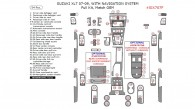 Suzuki XL-7 2007, 2008, 2009, With Navigation System, Full Interior Kit, 54 Pcs., Match OEM