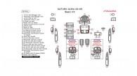 Saturn Aura 2008-2009, Basic Interior Kit, 38 Pcs.