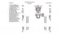 Saturn Vue 2006-2007, Basic Interior Kit, 33 Pcs.