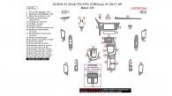 Scion iM 2016/Toyota Corolla iM 2017-2018, Basic Interior Kit, 40 Pcs.