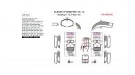 Subaru Forester 2009, 2010, 2011, 2012, 2013, Addition To Main Interior Kit, 33 Pcs.