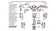 Subaru Impreza 2009, 2010, 2011, With Automatic Transmission, Full Interior Kit (Non-STI), 56 Pcs.