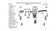 Toyota Camry Solara 2004, 2005, 2006, 2007, 2008, SE, Convertible, Medium Interior Kit, 38 Pcs.