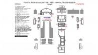 Toyota FJ Cruiser 2007, 2008, 2009, 2010, 2011, 2012, 2013, 2014, Non-Match OEM, With Manual Transmission, Full Interior Kit, 35 Pcs.