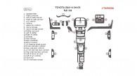 Toyota Rav4 2004-2005, Full Interior Kit, 28 Pcs.