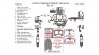 Toyota Tundra 2000, 2001, 2002, 2003, 2004, Extended Cab, Full Interior Kit, 26 Pcs.