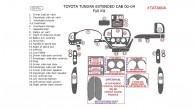Toyota Tundra 2000, 2001, 2002, 2003, 2004, Extended Cab, Full Interior Kit, 26 Pcs.