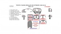 Toyota Tundra 2000, 2001, 2002, 2003, 2004, Basic Interior Kit, 11 Pcs.