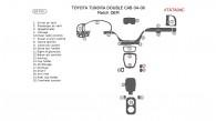 Toyota Tundra 2004-2006, Interior Dash Kit, Double Cab, Match OEM 22 Pcs