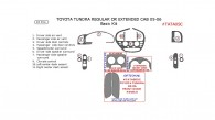 Toyota Tundra 2005-2006, Regular & Extended Cab, Basic Interior Kit, 10 Pcs.