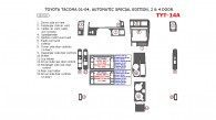 Toyota Tacoma 2001, 2002, 2003, 2004, Interior Dash Kit, Special Edition, 2 & 4 Door, With Automatic Transmission, 15 Pcs.
