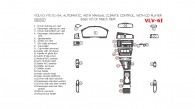 Volvo V70 2001, 2002, 2003, 2004, Basic Interior Kit or OEM Match, Automatic, With Manual Climate Control, With CD Player, 26 Pcs.